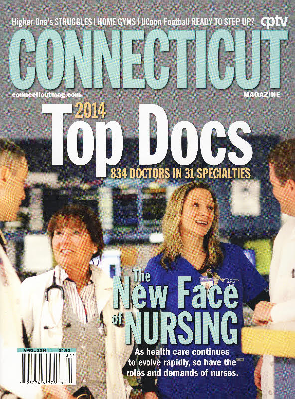 "Dr. Tom Coffey and Dr. Adam Pearl voted ""Top ENT Docs"" by Connecticut Magazine 2014"