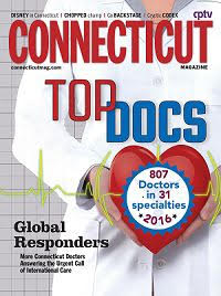 "Dr. Tom Coffey and Dr. Adam Pearl voted ""Top ENT Docs"" by Connecticut Magazine 2016"