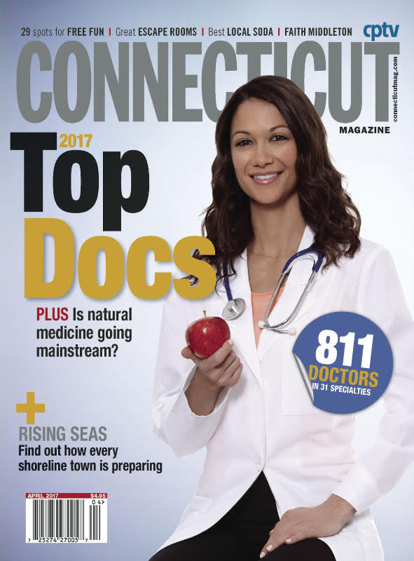 "Dr. Tom Coffey and Dr. Adam Pearl voted ""Top ENT Docs"" by Connecticut Magazine 2017"